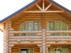 Log home refinishing contractor